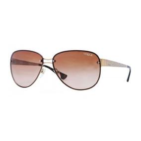 fb076d7ad95cb Oculo Feminino Aviador De Sol Vogue - Óculos no Mercado Livre Brasil