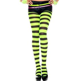 Malla Rayada Hallowen Disfraz Lolita Kaiwa Todos Los Colores