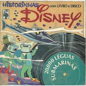 Revista Historinhas Disney Com Livro E Disco Raro - 1970