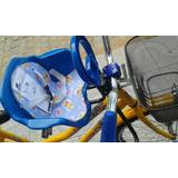 Cadeirinha Dianteira Bicicleta Frontal Infantil Pojda