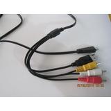 Cable Video Sony Vmc-md3 Usb Cybershot Dsc-w320