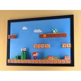 Papercraft Mario Bros. Mais De 50 Além De Extras