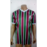 Camisa Fluminense Tricolor Malha Retro - Camisa Fluminense no ... eafc396e4d8ee