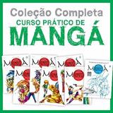 7x Livro Arthur Garcia Curso Pratico De Manga *coleção*