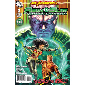 Dc Flashpoint Abin Sur The Green Lantern - Volume 3
