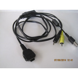 Cable Video Vmc-15fs Filmadora Sony Con Salida Audio Video
