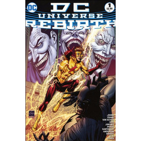 Dc Universe Rebirth 01 - Dc Comics 1 - Bonellihq Cx421 H18