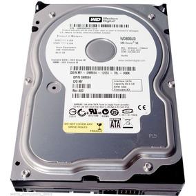 Hd Dell Wd 80gb 7.2k Sata 3,5 3g Wd800jd 0nr694 Com Nota