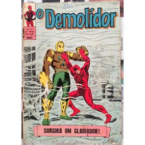 O Demolidor - Ebal - Número 17 - Edição Rara!