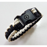 Bracelete Paracord Sobrevivência Glow - Acende No Escuro