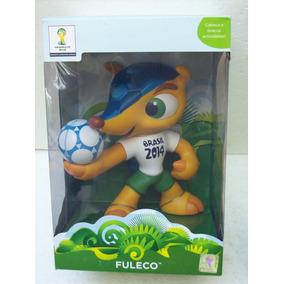 0981bb21e7 Fuleco Boneco Grow Mascote Da Copa 2014 Lacrado Oficial