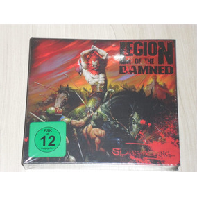 Box Legion Of The Damned - Slaughtering (2 Dvds + Cd) Lacrad