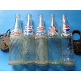 Lote 5 Antigas Garrafas Refrigerante