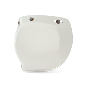 Visor Burbuja Transparente Bell Custom 500 Casco Abierto