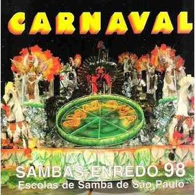 Cd - Carnaval 1998 - Sambas Enredo De São Paulo - Lacrado