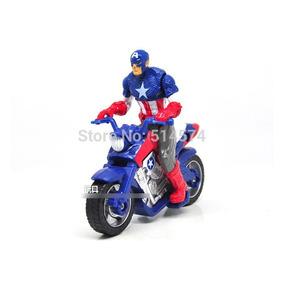 Capitão America E Sua Moto. Entrega Imediata!!!
