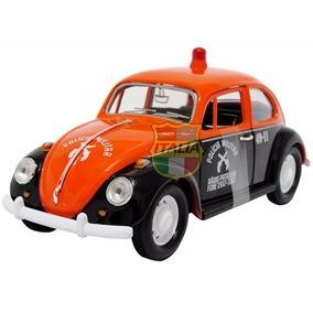 Volkswagen Fusca Polícia Militar Sp 67 1:24 Califórnia