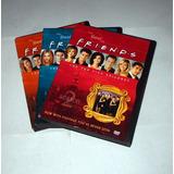 3 Dvds Série Friends 2 3 4 Temporadas Os 5 Melhores Epsódios