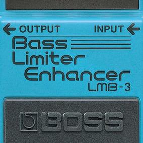 Pedal Boss Limiter Enhancer Lmb-3 Para Contra-baixo