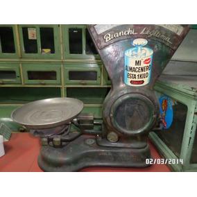 Balanza Antigua Bianchi Pesa Hasta 15 Kg. Año 1947
