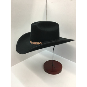 Sombrero Negro Lona Vaquero bf1b39b6b8c
