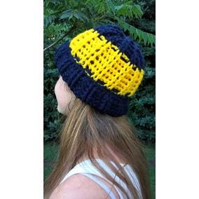 2ca89df4b5ac7 Gorros Artesanales En Crochet Para Hombre - Ropa y Accesorios Azul ...