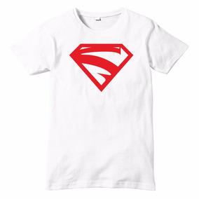 Playera Talla Infantil Supergirl Impresion Digital Dc Comics