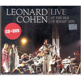 Leonard Cohen - Live At The Isle Of Wight 1970 Cd + Dvd