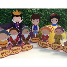 Kit (cut) Branca De Neve,príncipe, Bruxa E 7 Anões