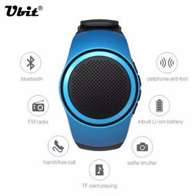 Relogio Mini Caixa De Som Bluetooth Speaker Sd Ubit B20 Mp3