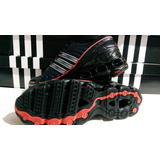 timeless design fbee6 907af Tenis adidas Bounce Rava, 27.5 Mex, Negro rojo