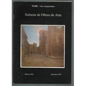 Verbo: Subasta De Antigüedades. Bs.as., 1990.