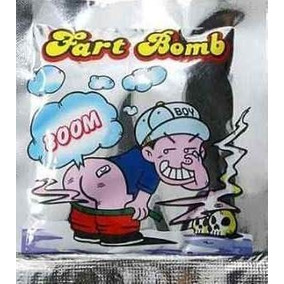 Fart Bomb Saco De Peidos Fedorento Kit Com 60 Unidades