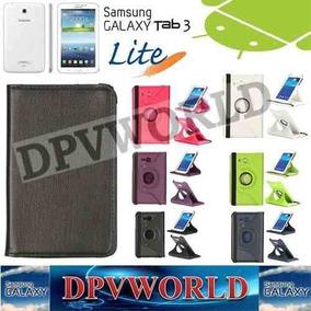 Estuche Samsung Galaxy Tab 3 Lite T110 T111 Tipo Giratorio