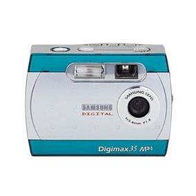 Câmera Fotográfica Samsung Digimax 35 / Mp3