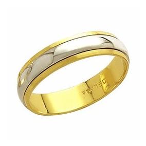 6932738fb43 Alianças De Casamento Em Ouro 18k Aliança Classica Al89 Gira ...