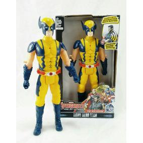 1acf182a0a989 Boneco Wolverine Super Herois Marvel Vingadores - Bonecos e Figuras ...