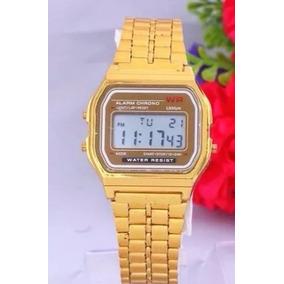 0c76756281f Relogio Casio Dourado Pulso - Relógio Masculino no Mercado Livre Brasil
