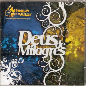 cd toque no altar deus de milagres pb