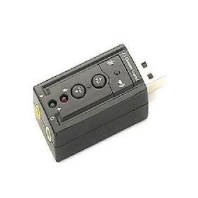 Mini Placa Som 3d 7.1 Usb Fone Ouvido Frete Grátis