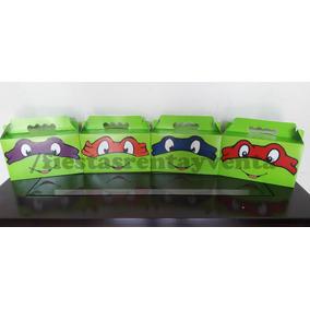 Caja Y Bolsa Para Dulces Tortugas Ninja