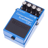 Pedal Analogo Boss Cs-3 Guitarra Cs3 Compresor Sustainer