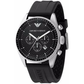 43e09768828 Empório Armani Caixa Quadrada Um Luxo - Relógios De Pulso no Mercado ...