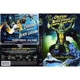 Monstro Da Lagoa Negra-trilogia-(c/box)dub. Clássica-leg-dig