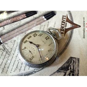 Reloj De Bolsillo Illinois Ferrocarilero Antiguo De Cuerda