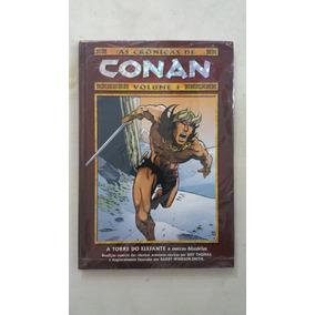 As Crônicas De Conan Volume 1 Mythos Novo Lacrado Imperdíel