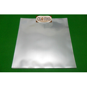400 Plásticos Externos 0,15 P/ Capas De Lp Discos Vinil