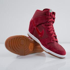 Zapatillas Nike Mujer Con Taco Dunk - Ropa y Accesorios en Mercado ... edd9ff9a21009