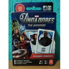 Jogo Rouba Monte Dos Vingadores Da Marvel Marca Copag (ak2)