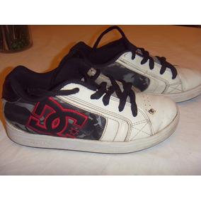 Zapatillas DC para Niños Blanco en Mercado Libre Argentina 43a9b5a0047
